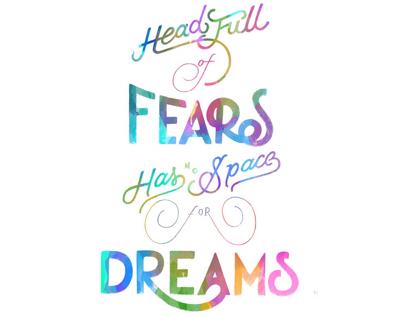 headful of fears