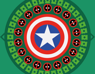 Superheroes Pattern