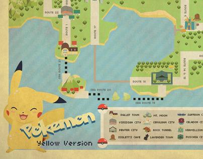 Vector Map Project - Pokemon Indigo League