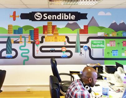 Sendible- Office branding