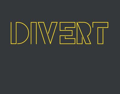 Divert typeface