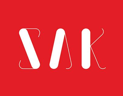 SAK Typeface