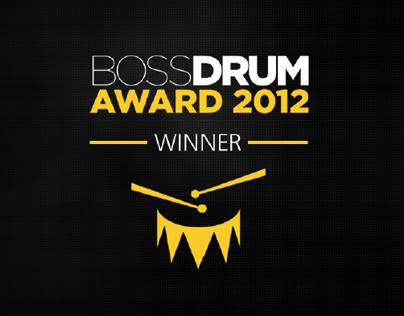 Boss Drum Award // 2012