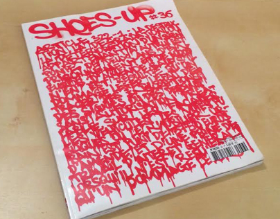 Cover and scenery for SHOES UP magazine