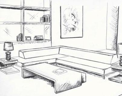 Interior Layout Renderings