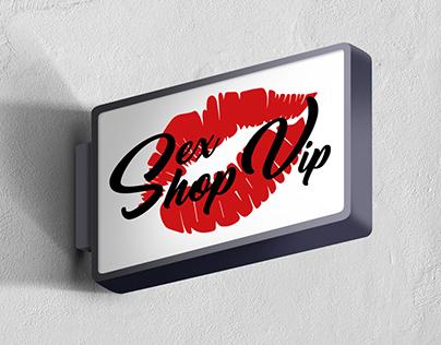 Identidad corporativa Sex Shop Vip.