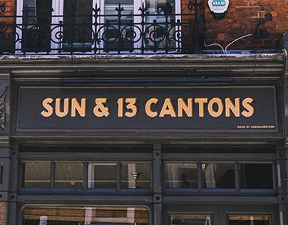 The Sun & 13 Cantons