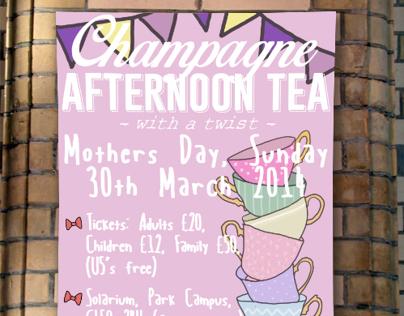 Charity Tea Poster