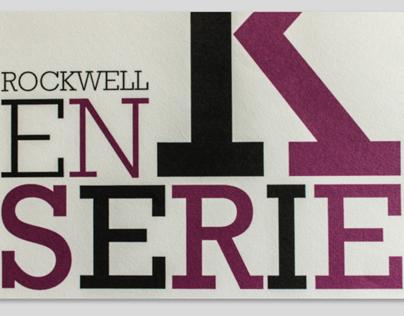 Espécimen Tipográfico - Rockwell