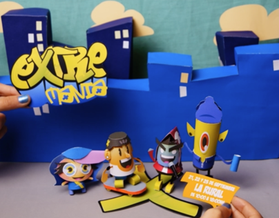 Stopmotion Paper Toys (2012)