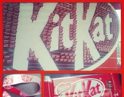 Actividad Lanzamiento Kit Kat ®