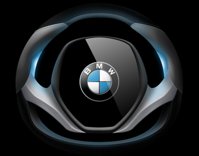 BMW i Steering Wheel Concept