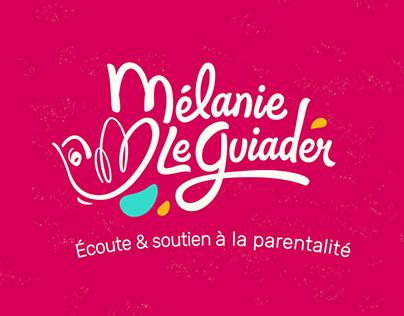 Mélanie Le Guiader, création de logotype