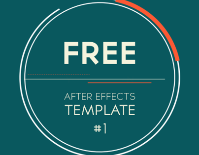 Free After Effects Template: 2D Logo Introduction on Behance