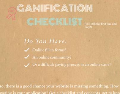 Gamification checklist