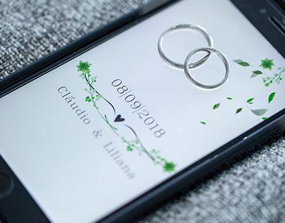 Exemplar de Book Fotografico Digital de casamento