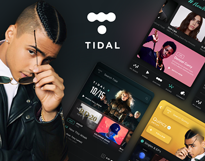 Tidal Music Streaming - UI/UX Redesign