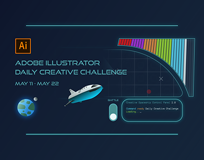 Illustrator Daily Creative Challenge (May 11 - May 22)