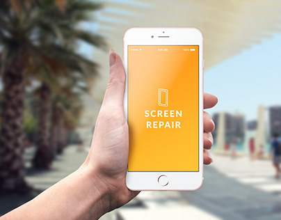 Screen Repair - Mobile App