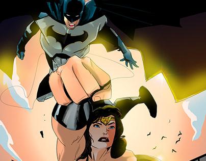 Batman and Wonder Woman Fan Art