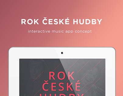 Interactive music app concept