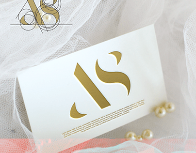 A S letter logo