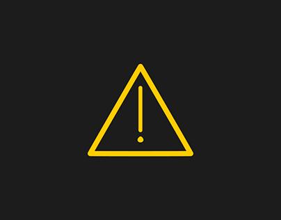 attention/error animation