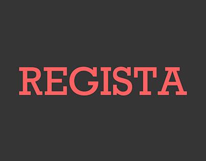 REGISTA · Branding & Content