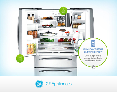 GE Appliences Website Redesign