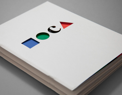 MOCA Museum of Contemporary Art Brochure