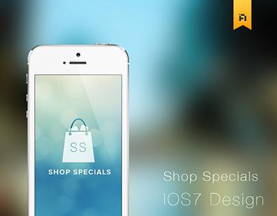 Shop Specials UI/UX App design
