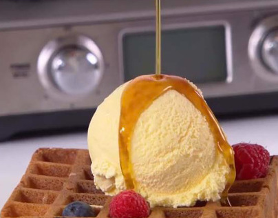 Food styling for Breville online commercial