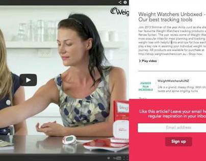 Styling for Weight Watchers