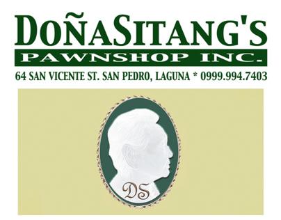 / Doña Sitang's Pawnshop Inc.
