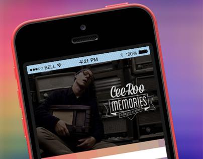 Application mobile pour l'écoute de musique