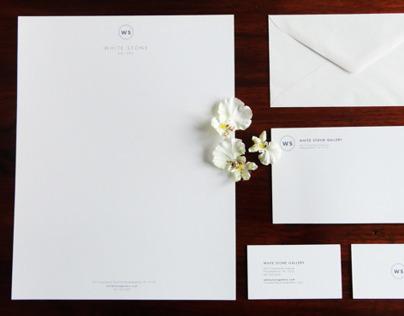 White Stone Gallery Rebranding