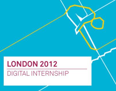 London 2012: Digital Intern Tasks