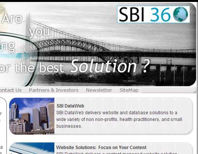 SBI DataWeb small website