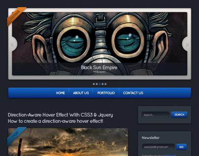 CubeReflect - WordPress Theme