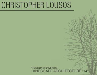 Christopher Lousos Portfolio