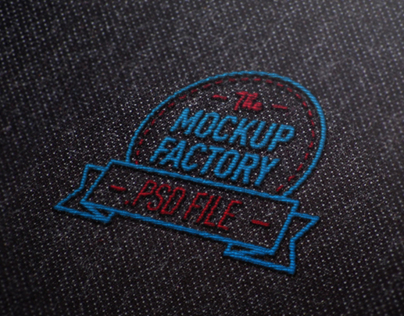 Embroidered Logo MockUp on Graphic River