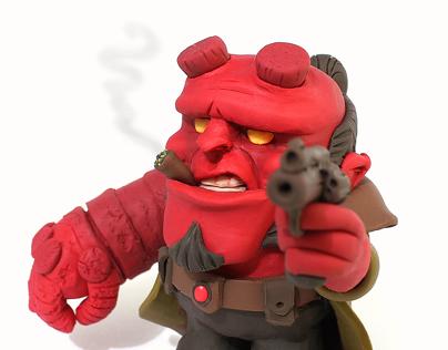 Hellboy's 20th Birthday Fanart