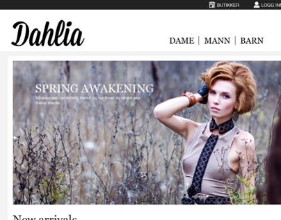 Dahlia, website