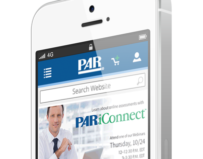 Mobile site for PAR, Inc.