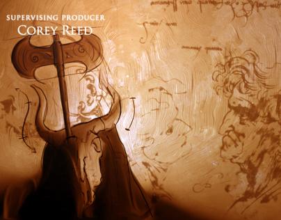 Da Vinci's Demons opening titles series 2