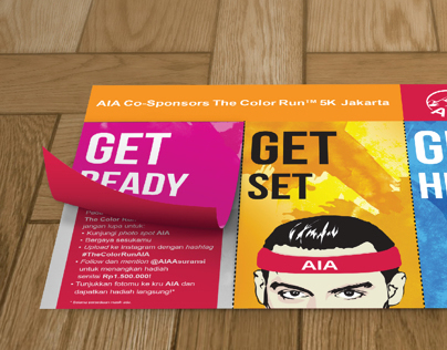LEAFLET // eDM For AIA_Co-Sponsors The ColorRun 5K JKT