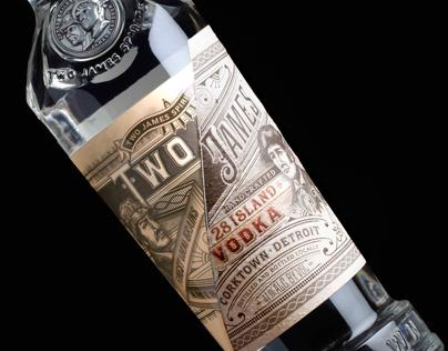 Two James gin & vodka