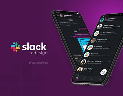 Slack Mobile App Redesign