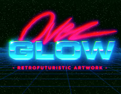 Overglow VHS logo animation