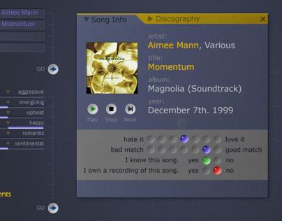 Moodlogic Music Browser